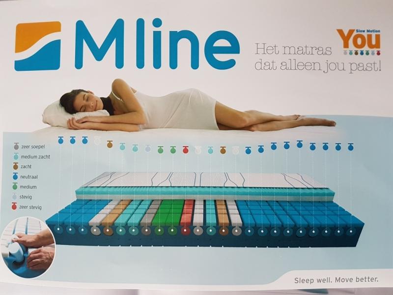 M Line Matras : Nieuwe m line matras you beter slapen